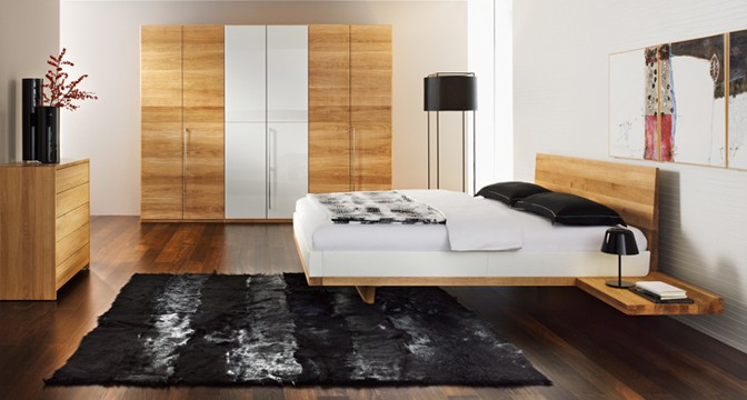 Team 7 riletto bed fjord - Traditionele bed tafel ...